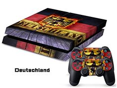 Full Body Decal Skin Sticker Set for Playstation PS 4 PS4 Console+Controllers #0191