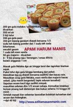 Apam Pisang Malaysian S Recipes Forward Apam Pisang 2 1 Fie Zaa Resipi