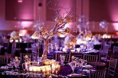 Ideas wedding table settings purple simple centerpieces for 2019 Manzanita Centerpiece, Purple Wedding Centerpieces, Branch Centerpieces, Orchid Centerpieces, Simple Centerpieces, Manzanita Tree, Centerpiece Ideas, Wedding Arrangements, Purple Wedding Tables