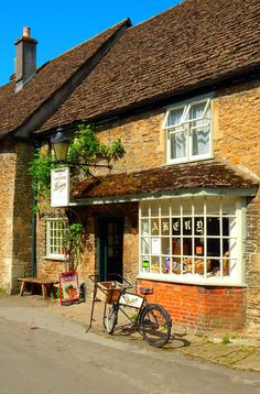 my-very-own-life-in-the-woods: Lacock, Wiltshire, England, UK - Lacock Bakery — FUCKITANDMOVETOBRITAIN
