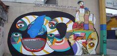 Street art | Mural (São Paulo, Brazil) by Ricardo AKN
