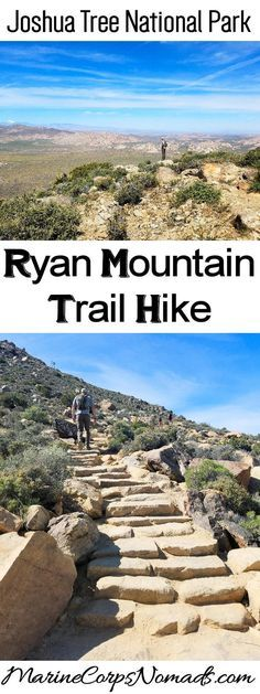 Ryan Mountain Trail Hike, Joshua Tree National Park, California