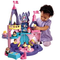 World of Little People Disney Princess  - All of ours have had these toy sets! they are fab x