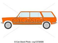 This car coloring page the very simple easy paint color for Station wagon coloring pages