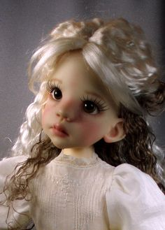 Talyssa by Kaye Wiggs as a blond