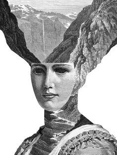 Lovely, fantastical Victorian-style portraits from illustrator Dan Hillier