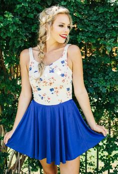 One piece swimsuit// OH my gosh it looks like a ballerina/dance dress gahh its cute