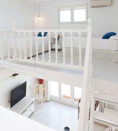 L'Hotelet de la Raconà - Dénia.com Bunk Beds, Loft, Furniture, Home Decor, Apartments, Home, Lofts, Double Bunk Beds, Interior Design