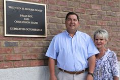 Morris Family Honored for Commitment to Capital Campaign