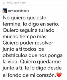 Quiero eso pero soy demasiado COBARDE para poder enfrentarte Message For Boyfriend, Boyfriend Quotes, Boyfriend Crafts, Future Boyfriend, Super Quotes, Love Quotes, Meaning Of Love, Loving U, Love Messages