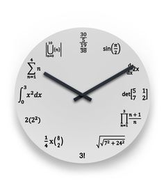 What is Mental Math? Well, answer is quite simple, mental math is nothing but simple calculations done in your head, that is, mentally. Love Math, Fun Math, Math Games, Math Clock, Math Wall, Math Quotes, Physics And Mathematics, Math Formulas, Wall Clock Design