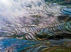 Hani Terraced Fields, Honghe Yunnan, China