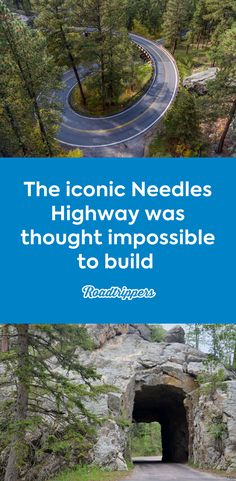 The iconic Needles Highway is a white-knuckle drive that was believed impossible to build South Dakota Vacation, South Dakota Travel, Road Trip To Colorado, Us Road Trip, Places To Travel, Places To See, Travel Things, Needles Highway, Custer State Park
