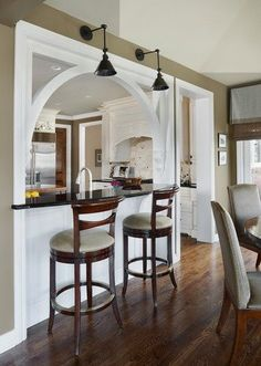 Image result for open window wall between kitchen and screened in porch