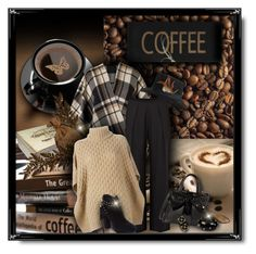 """It's Coffee Time"" by helenehrenhofer ❤ liked on Polyvore featuring CO, Chesca, Trilogy, Parker, MICHAEL Michael Kors, Jessica Simpson, Betsey Johnson and Alexis Bittar"