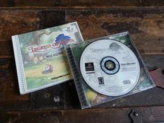 Sony Playstation 1 One PS1 Legend Of Mana Video Game Disc & Music CD Set