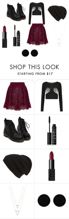 """""""asking alexandria -not the american average"""" by ctealexius on Polyvore featuring Boohoo, NARS Cosmetics, Phase 3 and AeraVida"""