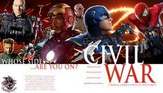 Marvel's Civil War by HeyZEUS-Lupus.deviantart.com on @DeviantArt
