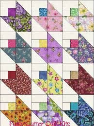 Image result for quilt blocks made with floral fabric