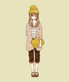 秋服まとめ [3] Drawing Clothes, Drawings, Fictional Characters, Ideas, Sketches, Drawing, Fantasy Characters, Portrait, Thoughts