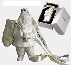 Image result for pandora holiday santa Ornament