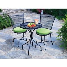 Greenwich Collection | West Elm | Chairs $109 Each. Bistro Table $126.  Lounger $279. | Madison Decor Ideas | Pinterest | Patio Dining Sets,  Outdoor Dining ...