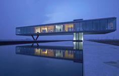 Villa Kogelhofan is a minimalist house located in The Netherlands, designed by Paul de Ruiter Architects. Villa Kogelhof is designed based o. Cantilever Architecture, Houses Architecture, Architecture Awards, Amazing Architecture, Contemporary Architecture, Interior Architecture, Landscape Architecture, Interior Design, Innovative Architecture