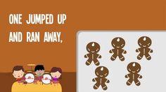 5 Gingerbread Men song for kids with lyrics!  #gingerbread #preschool