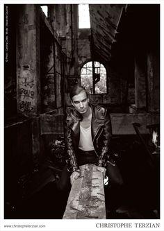 #fashion #Campaign | CHRISTOPHE TERZIAN #photography #luxe #biker #rock