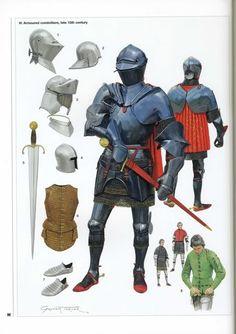15th century Milanese armor.