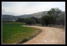 Camino de Santa María de Poyos, entre Buendía y la Ruta de las Caras