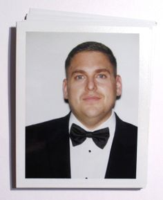 Backstage Polaroids From the 2014 Golden Globes - Jonah Hill