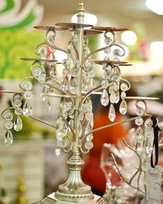 """Ho Ho HomeGoods"" - Bling Cupcake Stand - The Java Mama"