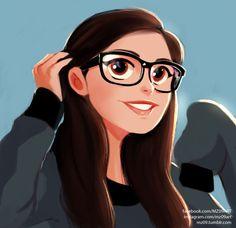 Character Design by Julio Cesar - Art, Illustrations Art And Illustration, Art Illustrations, Cartoon Kunst, Digital Art Girl, Cartoon Art Styles, Character Drawing, Anime Art Girl, Anime Girls, Girl Cartoon