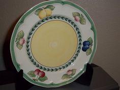 "Villeroy & Boch French Garden Fleurence Salad Plate 8""  Set Of 2 Plates"