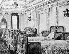 First class suite on Titanic