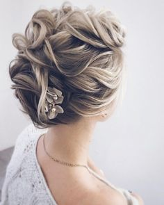 Messy updo hairstyles,wedding updo, messy upstyles,bridal updo hairstyle ideas,wedding hairstyles #weddinghair #hairstyles #messyupdo
