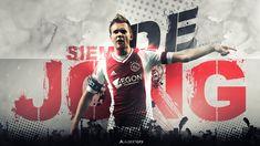 Siem De Jong (Ajax Amsterdam) by AlbertGFX on deviantART #AlbertGFX #football #wallpaper