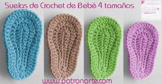 How To Crochet Cute And Easy Baby Booties/ Baby Sneakers Crochet Sole, Crochet Baby Sandals, Crochet Baby Booties, Crochet Slippers, Diy Crochet, Crochet Hats, Crochet Fabric, Tutorial Crochet, Knitted Baby