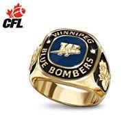 Awesome Winnipeg Blue Bombers ring