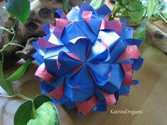 Origami ❃ Helica ❃ Kusudama