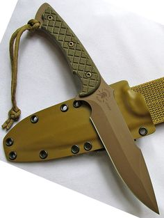 Spartan Blades Horkos Fixed Blade Fighting Utility Knife Kydex Sheath - Everyday Carry Gear