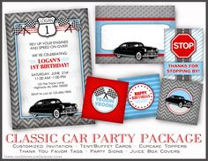 Classic Car Party Package 1