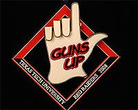 2008 Guns Up ornament
