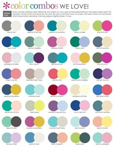Delightful Color Coordinating   Image Result For Suggested Color Combinations Erin Condren 2017