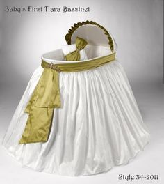 Heirloom Baby's First Tiara Bassinet. Price: $659.95