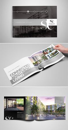 Architecture Portfolio Discover A Collection of Effective Real Estate Brochure Designs and Layouts Brochure Indesign, Template Brochure, Brochure Layout, Brochure Food, Brochure Ideas, Luxury Brochure, Corporate Brochure Design, Creative Brochure, Catalog Design Inspiration