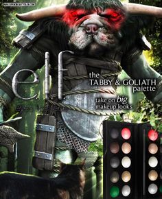 Tabs the Cat for the elf Tabby & Goliath Palette