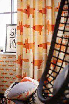 Scion Mr Fox Curtains