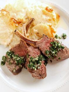An Elegant Easter Dinner - Crown Roast of Lamb with Mint Gremolata Lamb Recipes, Wine Recipes, Cooking Recipes, Party Recipes, Lamb Gravy, Easter Dinner, Easter Food, Easter Stuff, Hoppy Easter